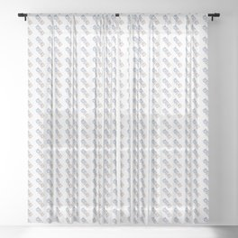 Made In Puerto Rico Sheer Curtain