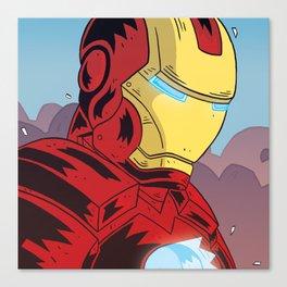 Iron M Canvas Print