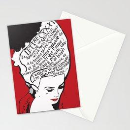 La Marquise de Merteuil - Dangerous Liaisons Stationery Cards