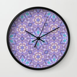 Floating Lotus flowers Wall Clock