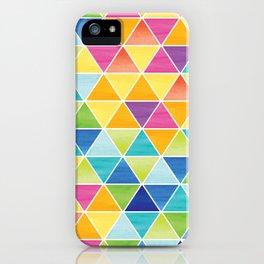 Triangle iPhone Case