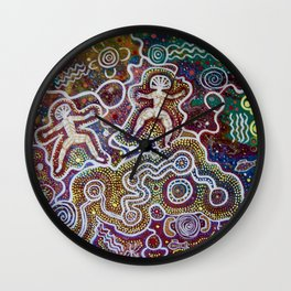 Weeri And Walawidbit 2 Wall Clock