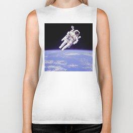 Astronaut on a Spacewalk Biker Tank
