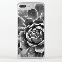 Sempervivum tectorum Clear iPhone Case