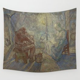 Evening (after Millet) Wall Tapestry