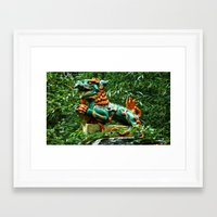 courage Framed Art Prints featuring Courage by Anthony M. Davis