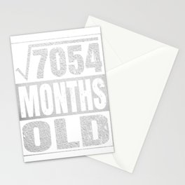 7 Years Old - 7th Birthday Vintage Retro Gift Stationery Cards