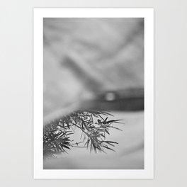 Less and less Art Print