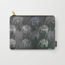 Elephants are going Carry-All Pouch