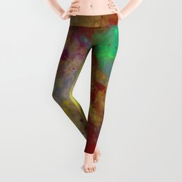 Through The Haze Of Colour Leggings