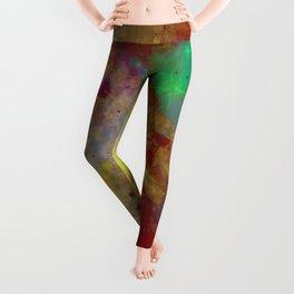 Through The Haze Of Colour Leggings