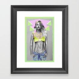 + WARPAINT + Framed Art Print