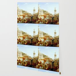 Cole Thomas The Consummation The Course of the Empire Wallpaper