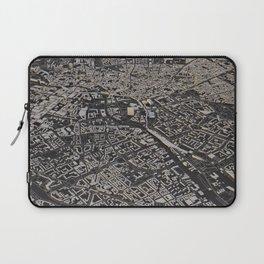 Berlin city map Laptop Sleeve