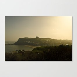 Whitby (view from the wale bones) Canvas Print