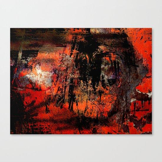 My Red Instinct Canvas Print