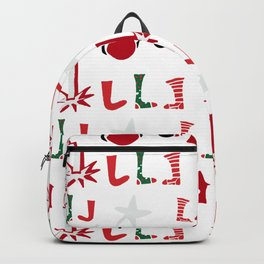 Christmas Cosy white Backpack