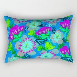 Twilight Hill Blooms Rectangular Pillow