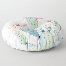 Cactus 2  White #society6 #buyart Floor Pillow