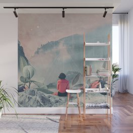 Lost in the 17th Dimension Wall Mural