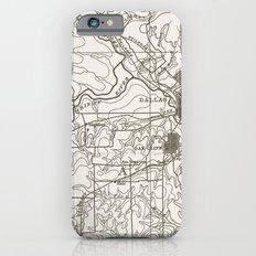 Dallas Map Slim Case iPhone 6