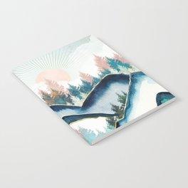 Winter Forest Notebook