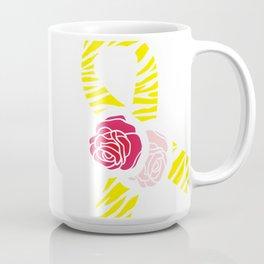 Endometriosis Awareness Ribbon Coffee Mug