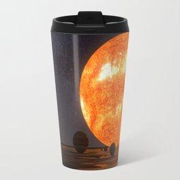 Solar System Art Travel Mug