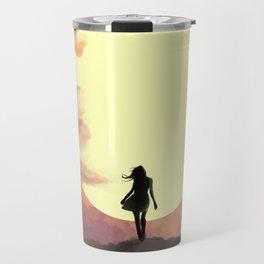Hope at sunset Travel Mug
