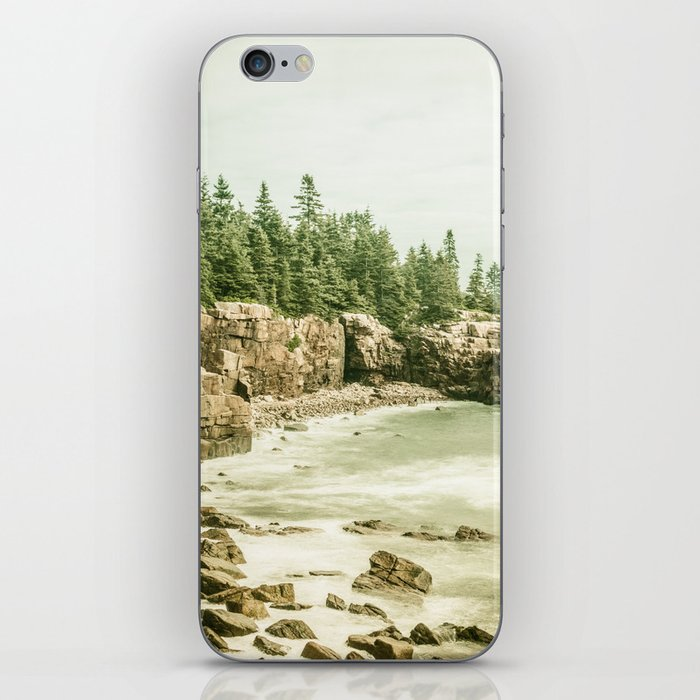 Acadia National Park Maine Rocky Beach iPhone Skin