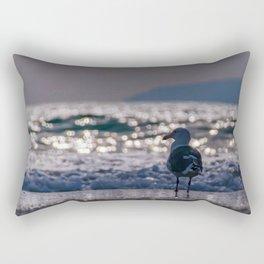 Afternoon Seagull Rectangular Pillow