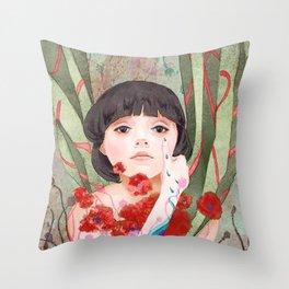 #8 Poppy Throw Pillow