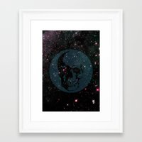 dead space Framed Art Prints featuring Dead Space by Fimbis