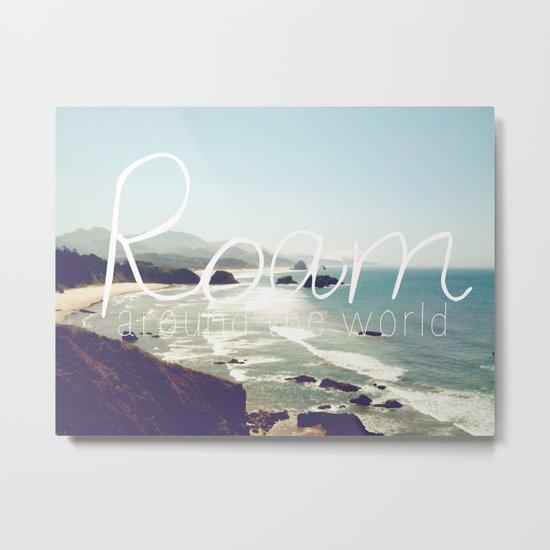 Roam III Metal Print