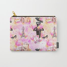 Fashion and Paris #4 Carry-All Pouch