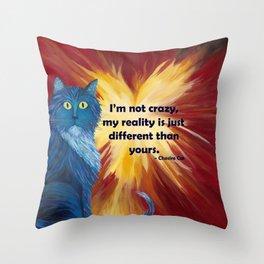 Chesire Cat Throw Pillow