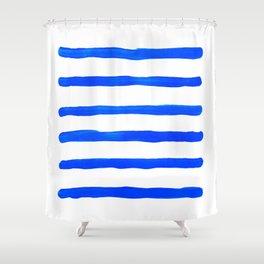 Brush #eclecticart Shower Curtain