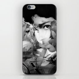 Vette Series 2: Wild Thing Blk & Wht iPhone Skin