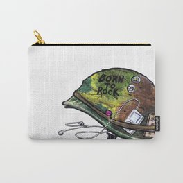 """""""Born to Rock"""" by Cap Blackard Carry-All Pouch"""