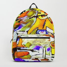 The voracious mariachis Backpack