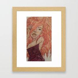 Obessed. Framed Art Print