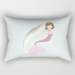 Natalie and Amelia Rectangular Pillow