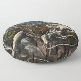 El Greco, Laocoon, 1610 Floor Pillow