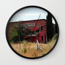 disintegrating underfoot Wall Clock