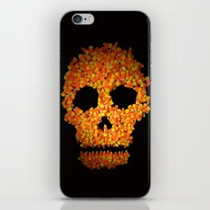 Candy Corn Skull iPhone Skin