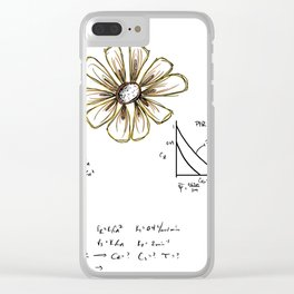 Chemical Reaction Kinetics & A Flower Clear iPhone Case