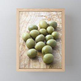 Spanish Manzanilla Olives Framed Mini Art Print