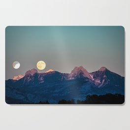The Rising Moon Cutting Board
