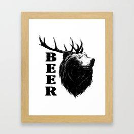 Beer !!! Framed Art Print
