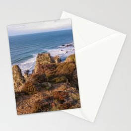 HANOVER COVE AT GOLDEN HOUR ST AGNES CORNWALL Stationery Cards